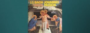 Read more about the article I was really looking forward to Bach's St. John Passion
