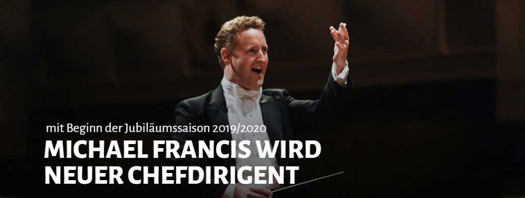 Michael Francis adds conducting role in Germany. How does that work?