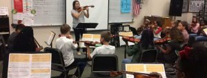 To support school orchestras, TFO teaches the teachers