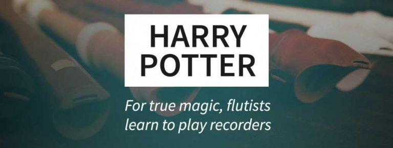 Flutists make their own Harry Potter magic with recorders