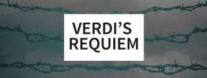 During Holocaust, why did Jews sing Verdi's Requiem to their captors?