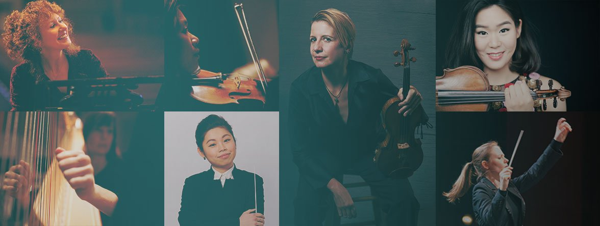 Classical music powered by women