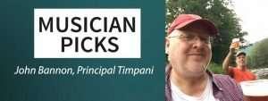 Musician concert picks: John Bannon