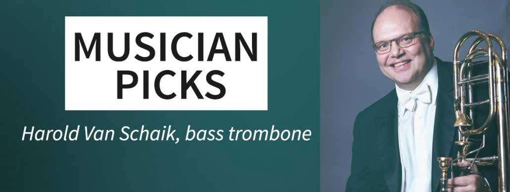 Musician concert picks: Harold Van Schaik
