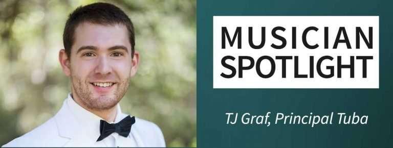Meet new Principal Tuba TJ Graf