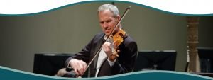 Read more about the article Chief violinist tunes up for well-seasoned music